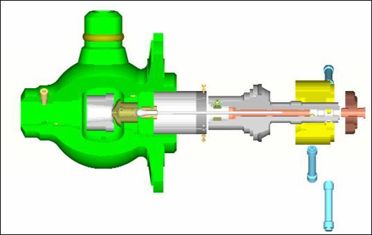 клапана паровой турбины с